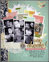 HIP KIT CLUB August 2012 - Say Cheese Layout