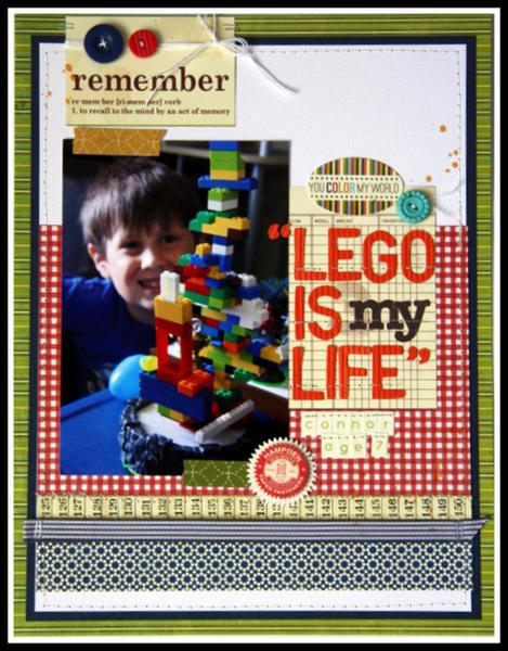 HIP KIT CLUB September 2012  - Lego Layout