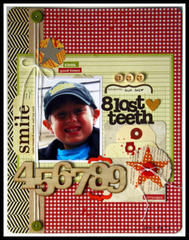 HIP KIT CLUB - September 2012 Kit - 8 Teeth Layout
