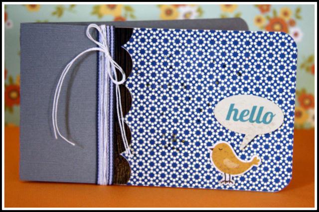 HIP KIT CLUB September 2012 Kit - Hello Card