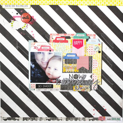 *HIP KIT CLUB - JUNE 2013 KIT* Everyday Layout