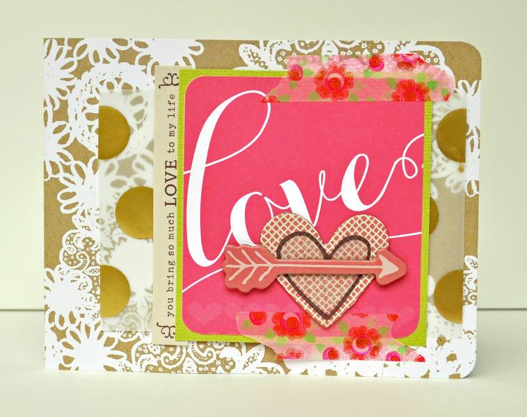 HIP KIT CLUB - January 2013 Kit -  Love Card