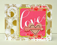 HIP KIT CLUB - January 2013 Kit -  Love Card
