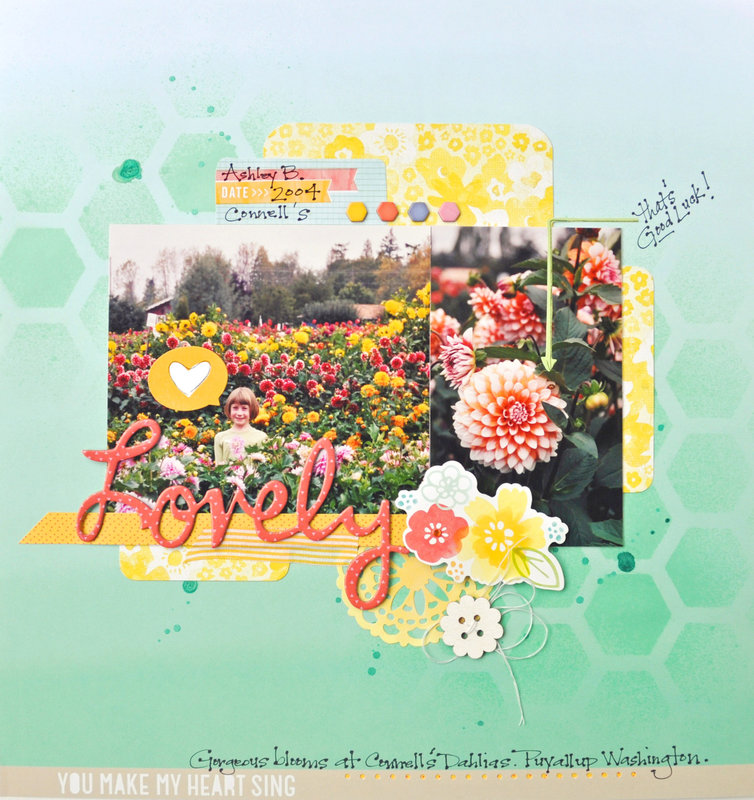 *HIP KIT CLUB - March 2013 Kit* Lovely LO