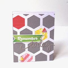 *HIP KIT CLUB - March 2013 Kit* Remember Card