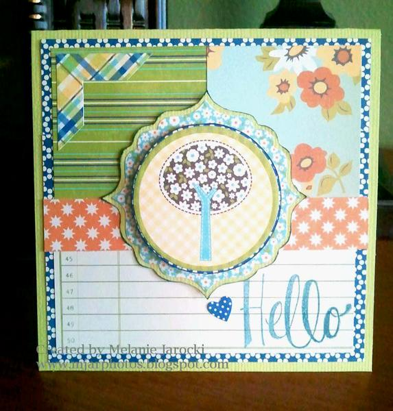 HIP KIT CLUB - September 2012 Kit - Hello Card