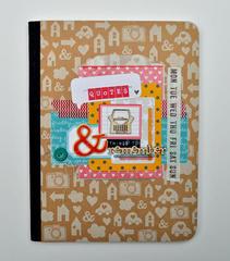 HIP KIT CLUB - December 2012 Kit - Embellished Journal