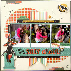 HIP KIT CLUB - October 2012 Kit - Silly Goul Layout