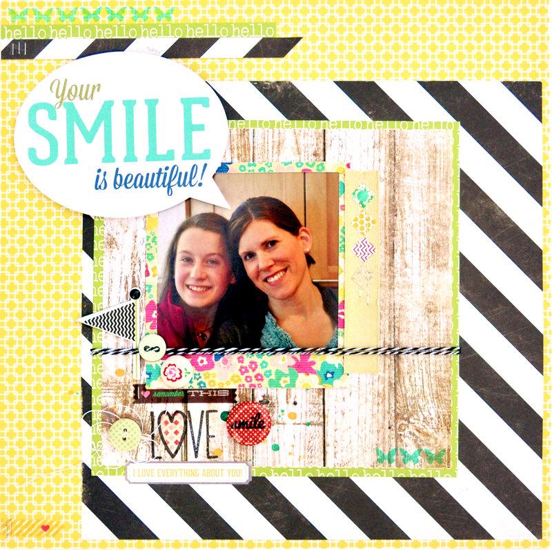 *HIP KIT CLUB - JUNE 2013 KIT*  Your Smile LO