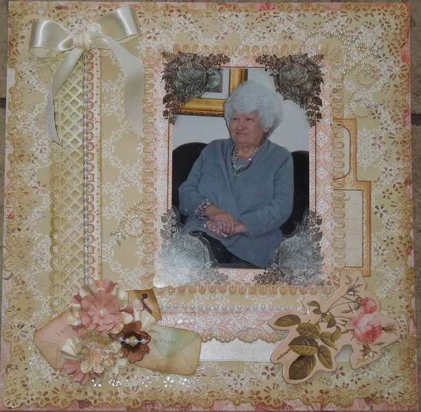 My Mother ~ April Creative Scrapbook Kit