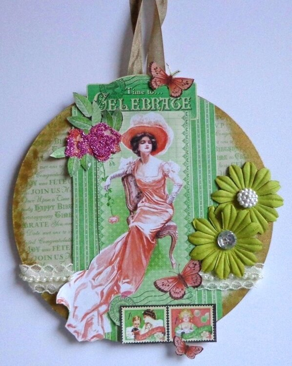 Time to Celebrate Acrylic Wall hanging