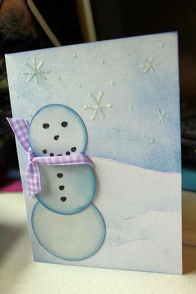 Season's Greetings Snowman