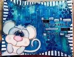 Snarky Friend Art Journal