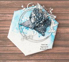 Mixed Media Winter - Frosty