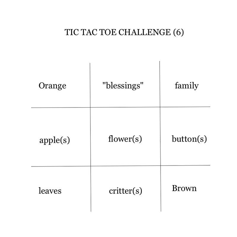 Tic Tac Toe Challenge September