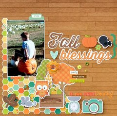 Fall Blessings