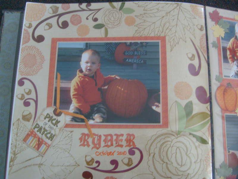 Ryder and the Pumpkins (left side)