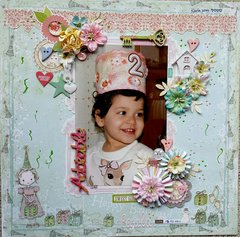 Adorable Happy Birthday Paula **Prima Marketing**