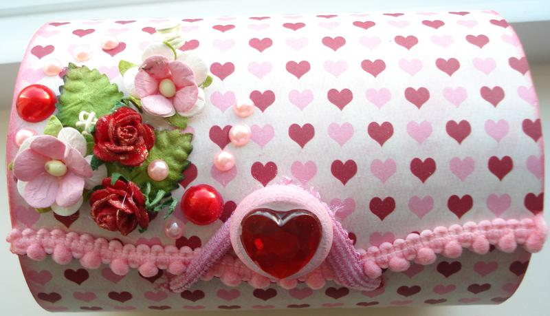 Altered Balsa Box - Valentine 2