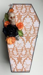 Altered Wooden Coffin
