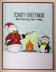 Toasty Greetings