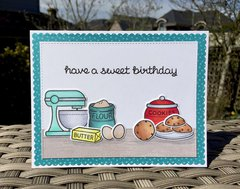 Sweet Birthday - Lawnscaping Challenge #126 Sweets