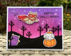 Happy Owl-O-Ween - PP315