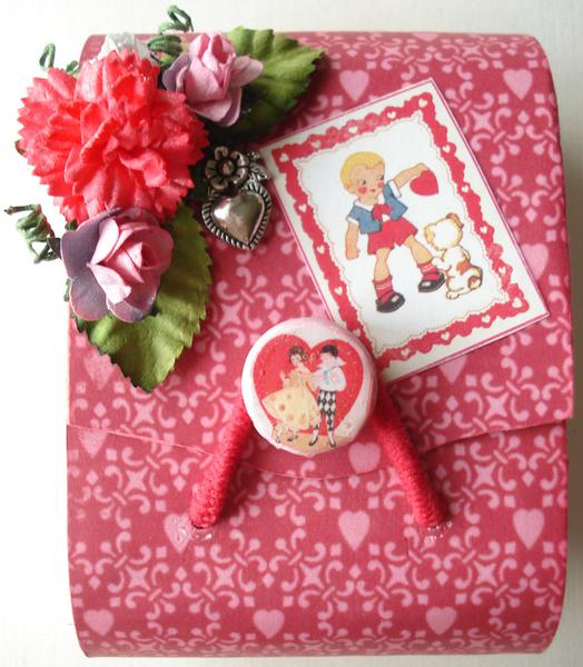 Altered Balsa Box - Valentine