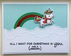 Unicorn Card Two Ways