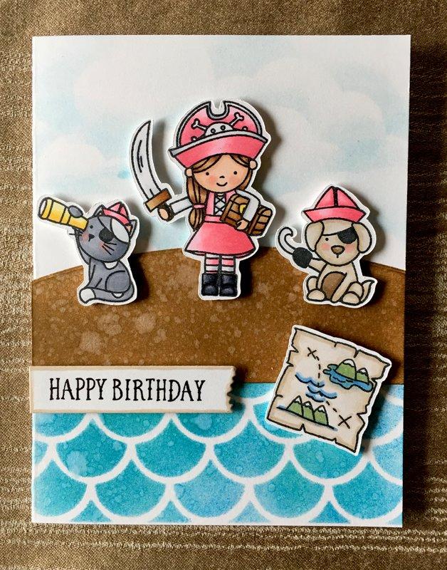 Happy Birthday Pirate Girl