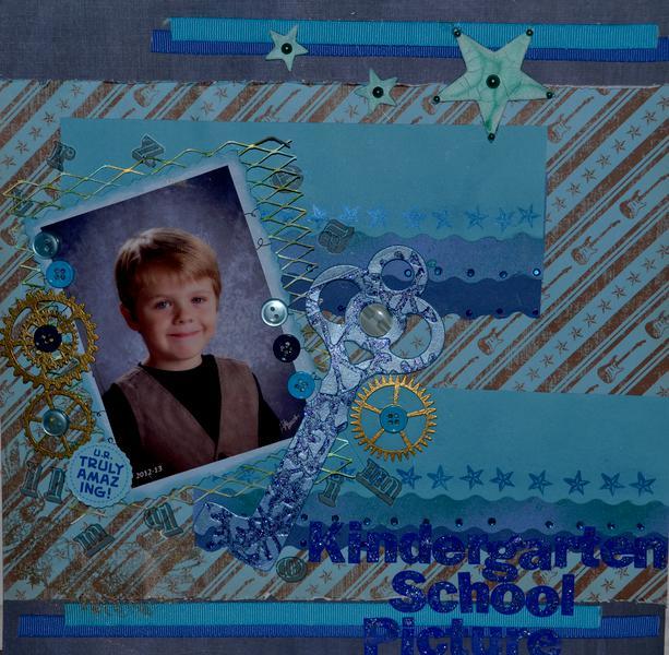 Kindergarten School Picture