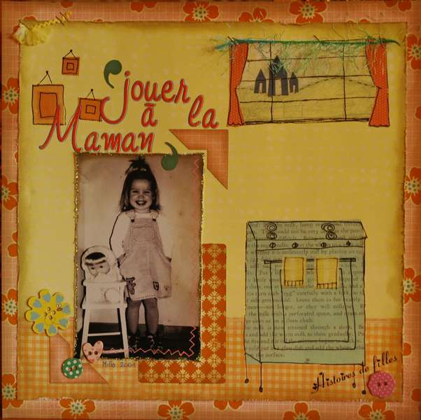 Jouer � la maman (Play the mom)