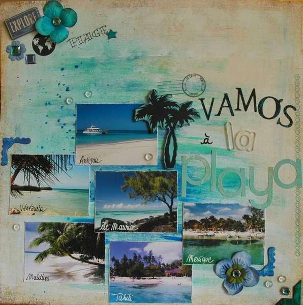 Vamos a la playa (let's go to the beach)