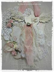 """""""Winter Angel Dressform"""" Wall or door knob hanger."""