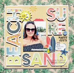 BEACH SURF SAND