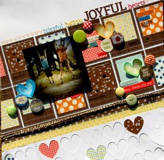 Joyful hearts * Lily Bee Design *