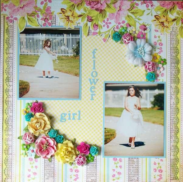 flower girl (Camryn)