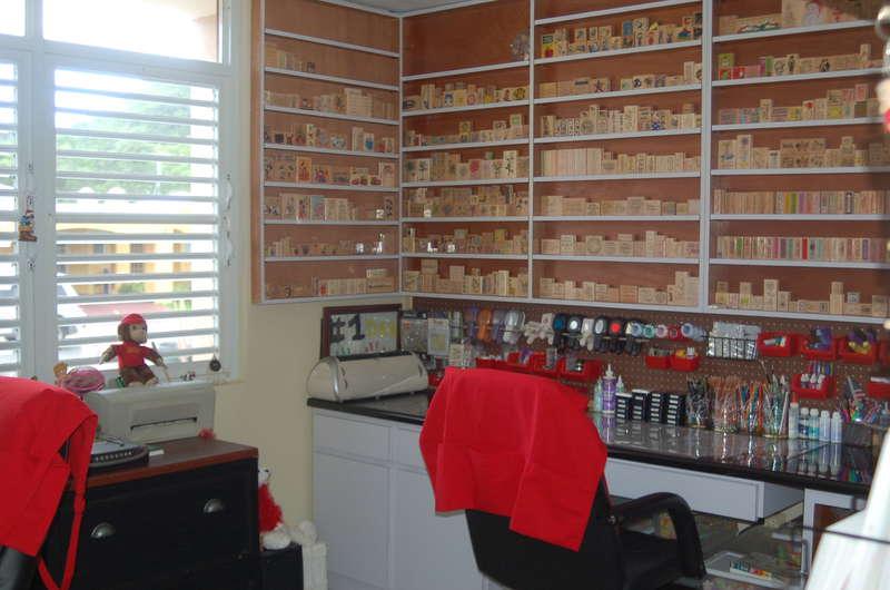 My craftroom Oasis.