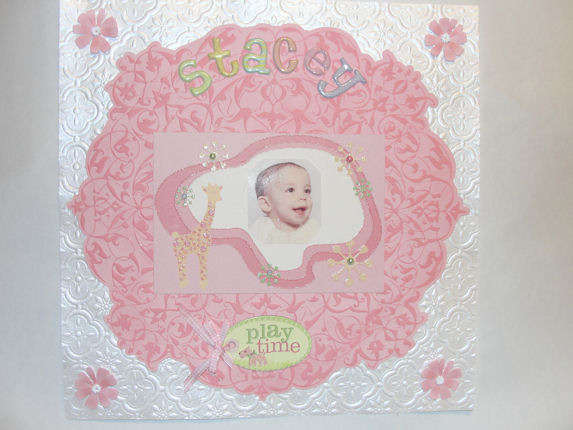 Stacey-Title Page to an album