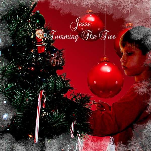 Jesse Trimming the tree