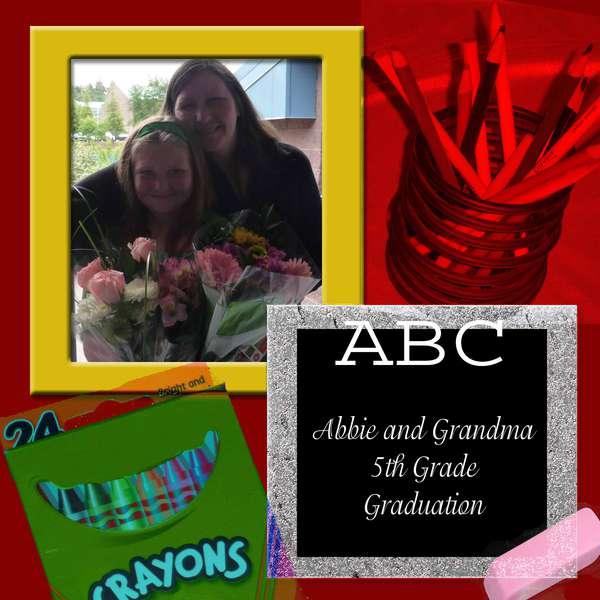 Abbie's Graduation