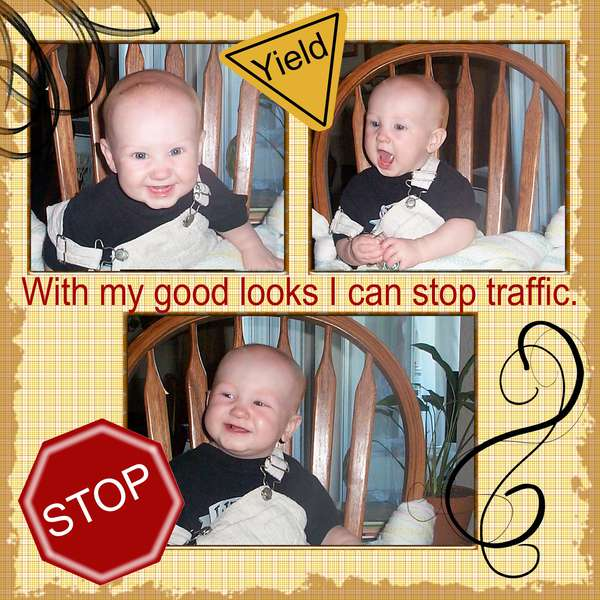 I can Stop traffic