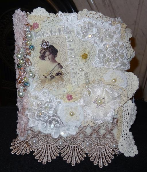 Fabric Lace and Doily Book