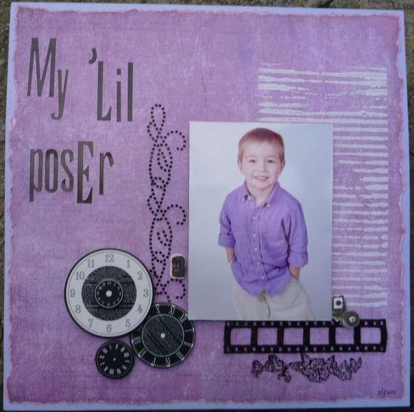 """My """"Lil Poser"""