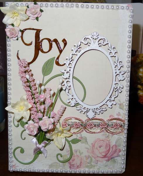 JOY  (altered journal cover)