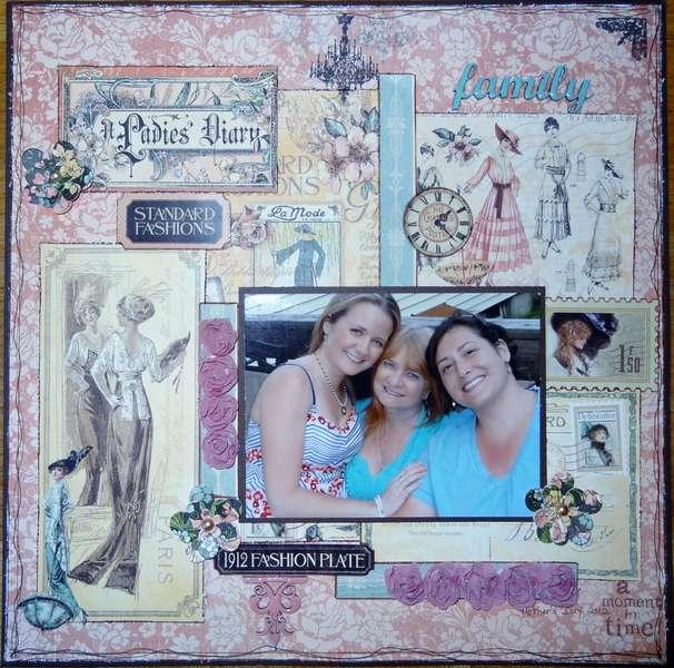 Family   Graphic 45 Ladies' Diary