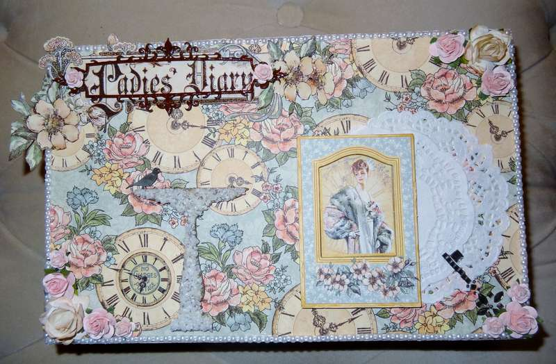 Graphic 45 Ladies' Diary SS swap box