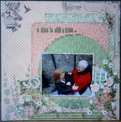 A Kiss is Still a Kiss...  Graphic 45 Once Upon A Springtime