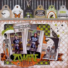 Beware the Zombie Ninja