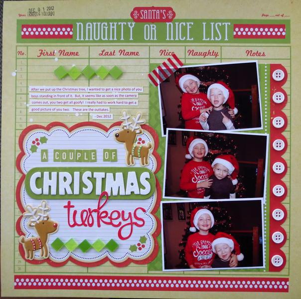 A Couple of Christmas Turkeys